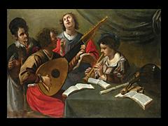 Theodor Rombouts 1597 - 1637, zugeschrieben