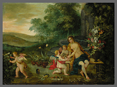 Jan Brueghel der Jüngere 1601 - 1678 und Jan van Balen 1611 - 1654, Umkreis