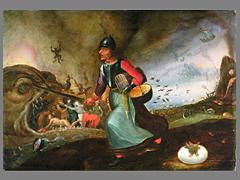 Detailabbildung: Peter Brueghel d. Ä., Werkstatt 1525 - 1569
