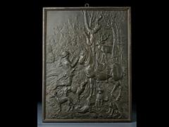 Bronzeplakette nach Dürer