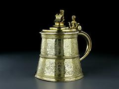 Früher Silberhumpen des 16. Jahrhunderts