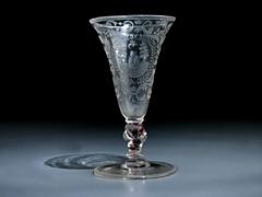 Böhmisches Kelchglas