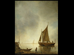 Jan van Goyen 1596 - 1656, in der Art von