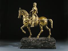 Darstellung des Reiterstandbildnisses Condotieri Colleoni von Andrea del Barochio in Venedig