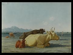 Wilhelm von Kobell 1766 Mannheim - 1853 München, Art des