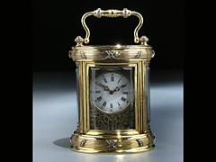 Detailabbildung: Reiseuhr von Fabergé, St. Petersburg