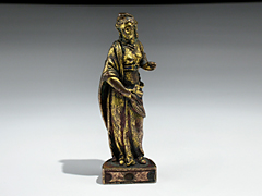 Bronzefigur einer Allegorie