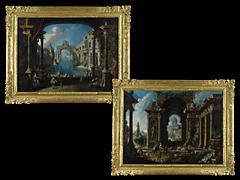 Detailabbildung: Fernando Galli-Bibiena 1657 Bologna - 1743