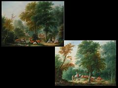Johann Andreas Herrlein 1723 - 1796, zugeschrieben