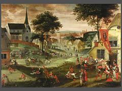 Detailabbildung: Pieter Brueghel d.J. 1564 - 1638, Umkreis des