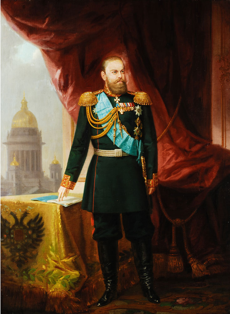 Russischer Portraitist des 19. Jahrhunderts