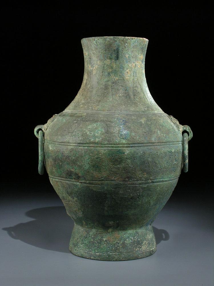 Bronzegefäß der Qin-Dynastie