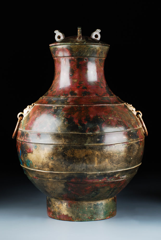 Bronzegefäß der westlichen Han-Dynastie