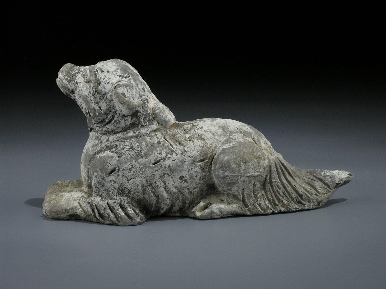 """Eines der Tiere der zwölf Tierkreiszeichen der chinesischen Astrologie - """"Der Hund"""""""