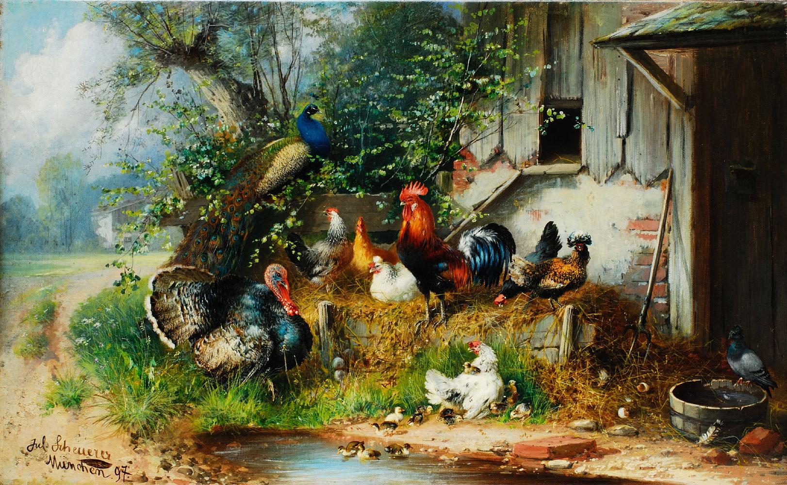 Julius Scheuerer 1859 - 1913
