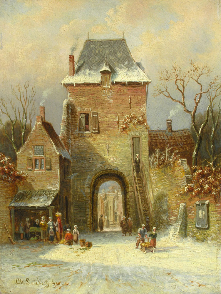 Charles Leickert 1816 1907 Hampel Fine Art Auctions