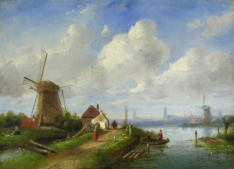 Charles Henry Joseph Leickert 1818 Brüssel - 1907 Mainz