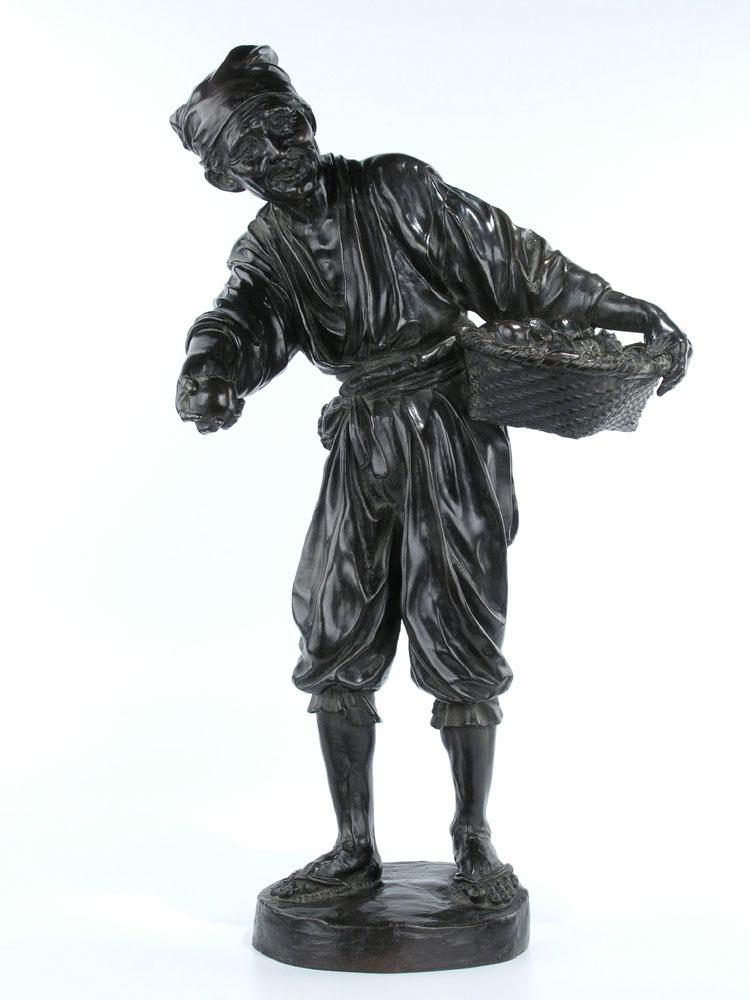 Japanische Bronzefigur