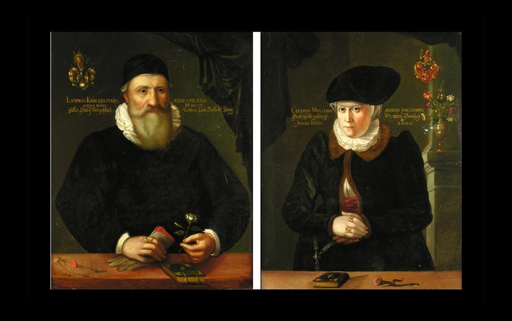 Deutscher Portraitist um 1600