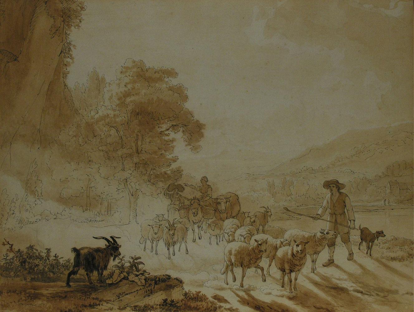 Balthasar Ommeganck 1755 Antwerpen - 1826