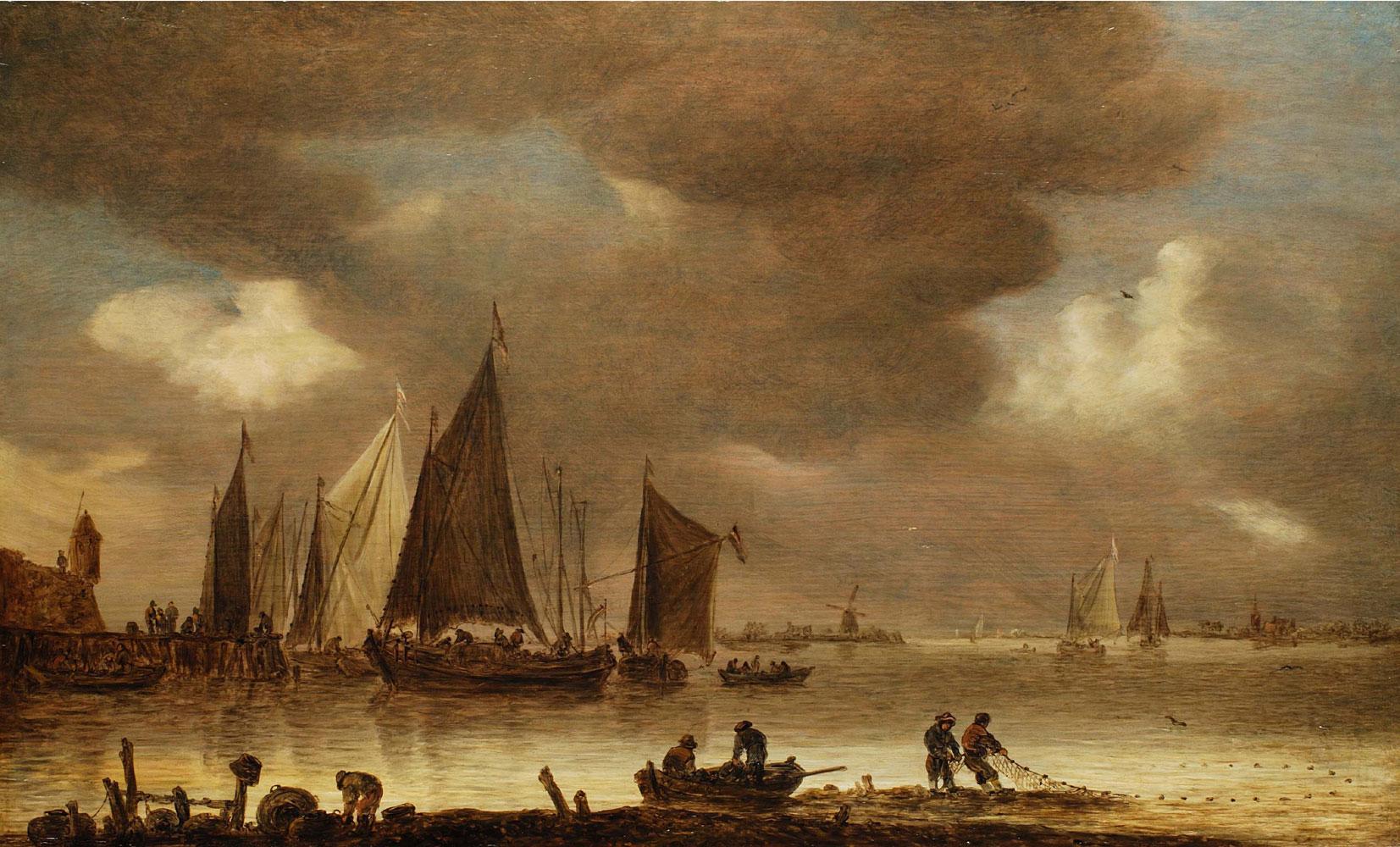 Jan van Goyen 1596 Leiden - 1656 Den Haag