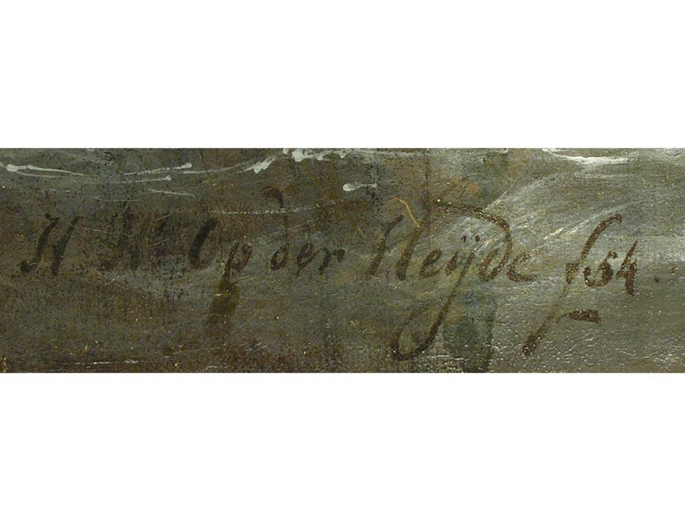 Herman Henry op der Heijde 1813 - 1857 Amsterdam