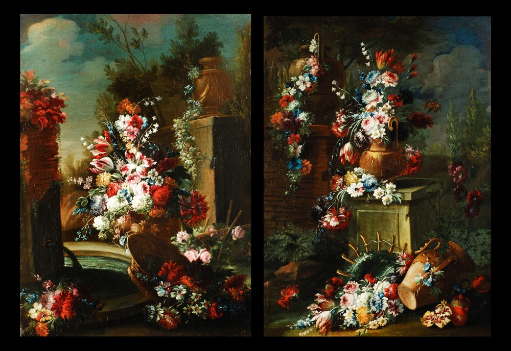 Casparo Lopez 1650 Napoli - 1732 Florenz ,zug.
