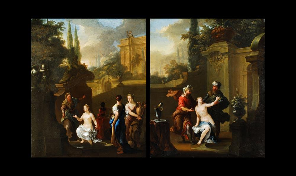 Frans de Paula Ferg 1689 Wien - 1720 London, zug.