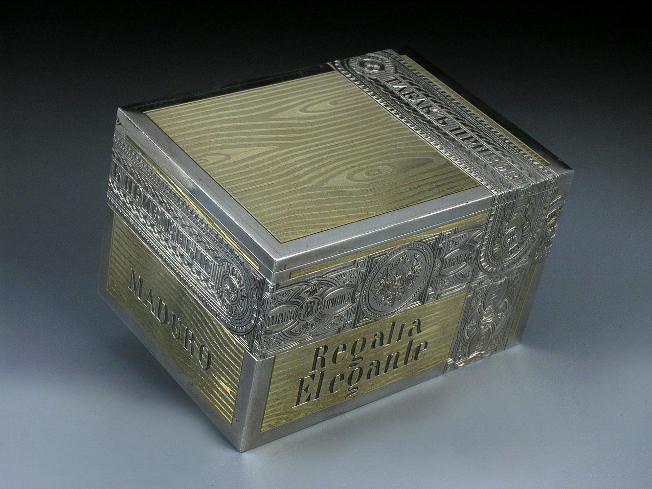 Silbertabakdose