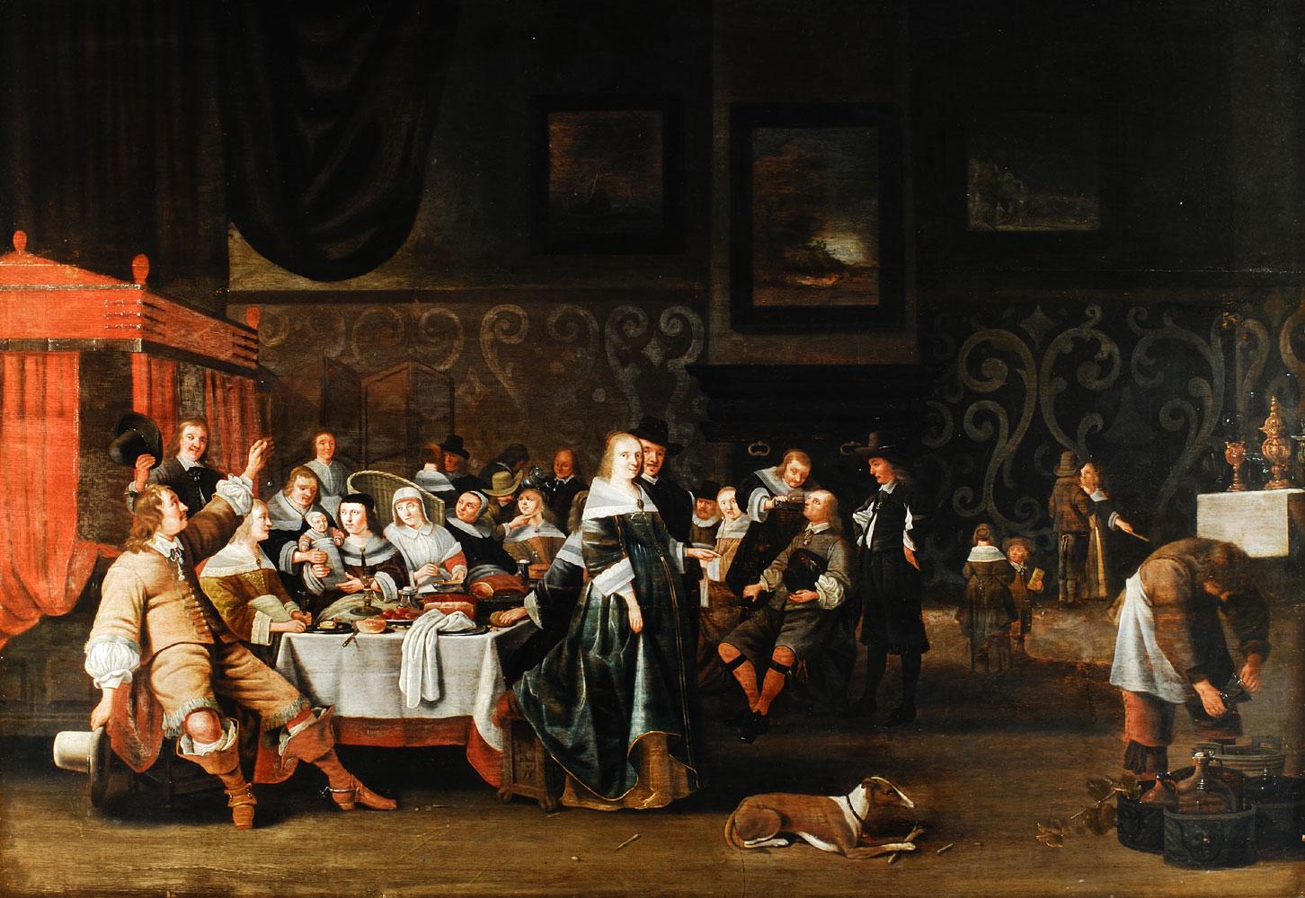 Anthonie Palamedesz, genannt Stevers 1601 Delft - 1673 Amsterdam