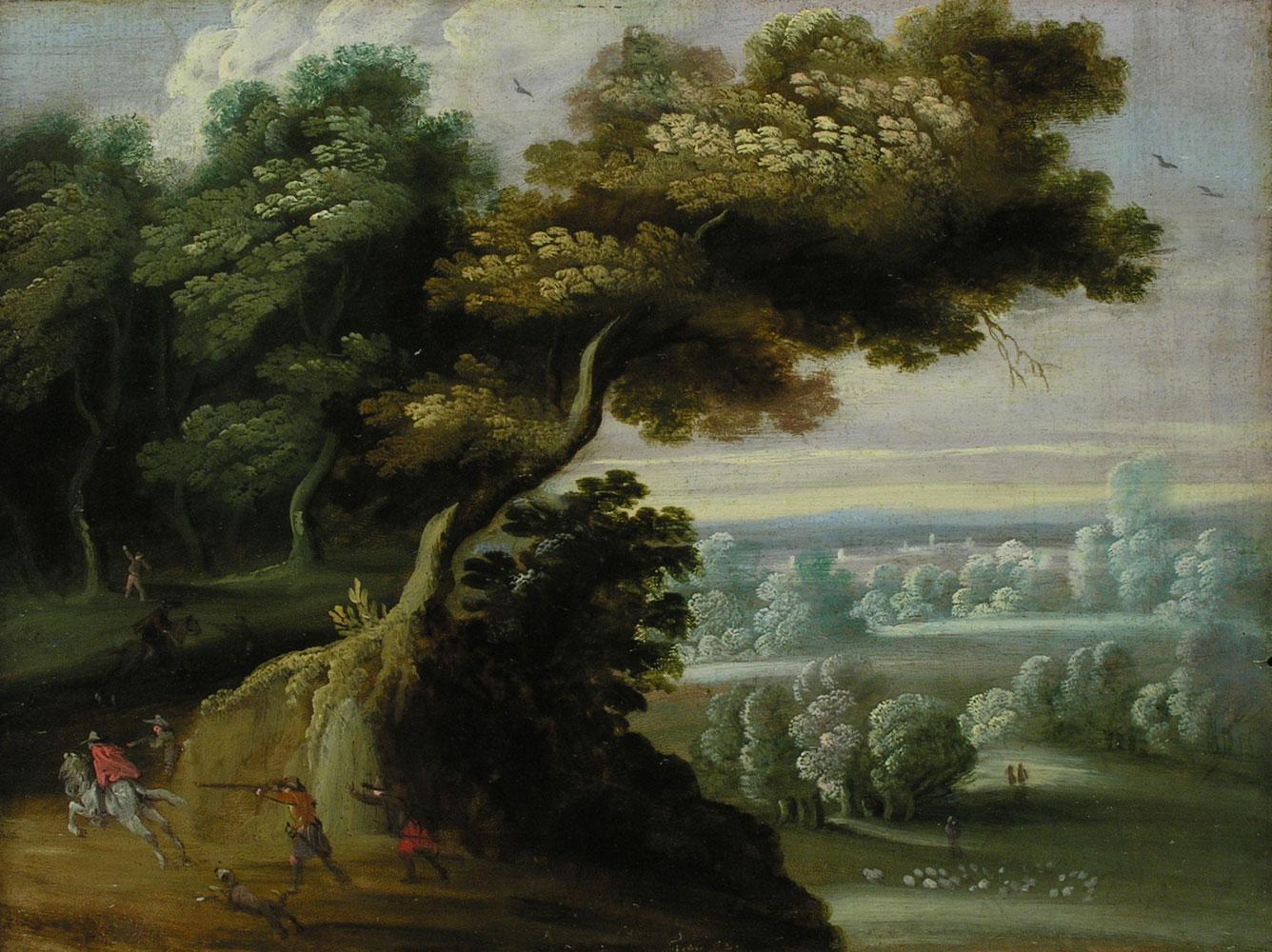 Jasper van der Laanen 1592 - 1626, zug.