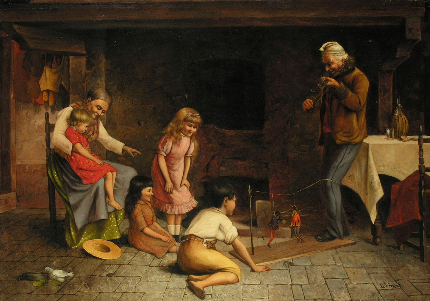 L. Brugati Italienischer Maler des 19. Jahrhunderts