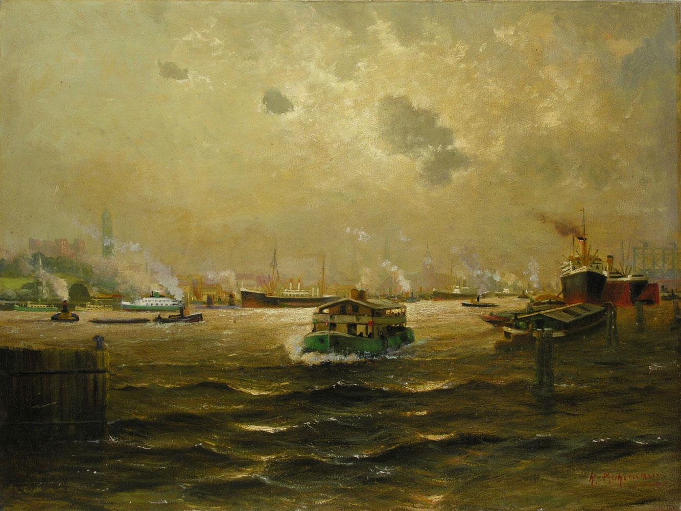 H. Kuhlmann Hamburger Maler des 19./20. Jahrhunderts