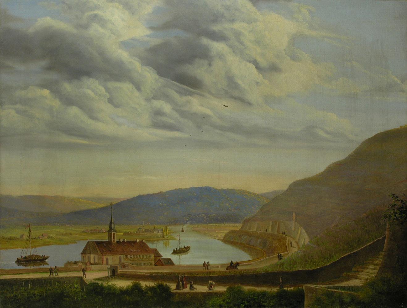 Deutscher Landschaftsmaler des 19. Jahrhunderts