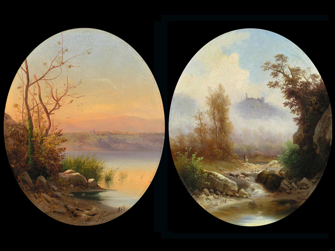 Guido Agostini Italienischer Maler des 19. Jahrhunderts