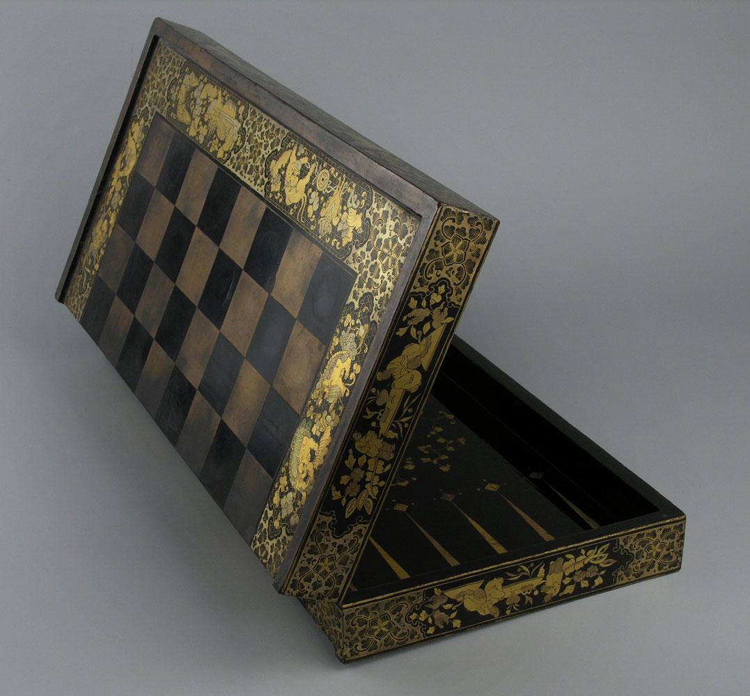 Chinesischer Schachbrettkasten
