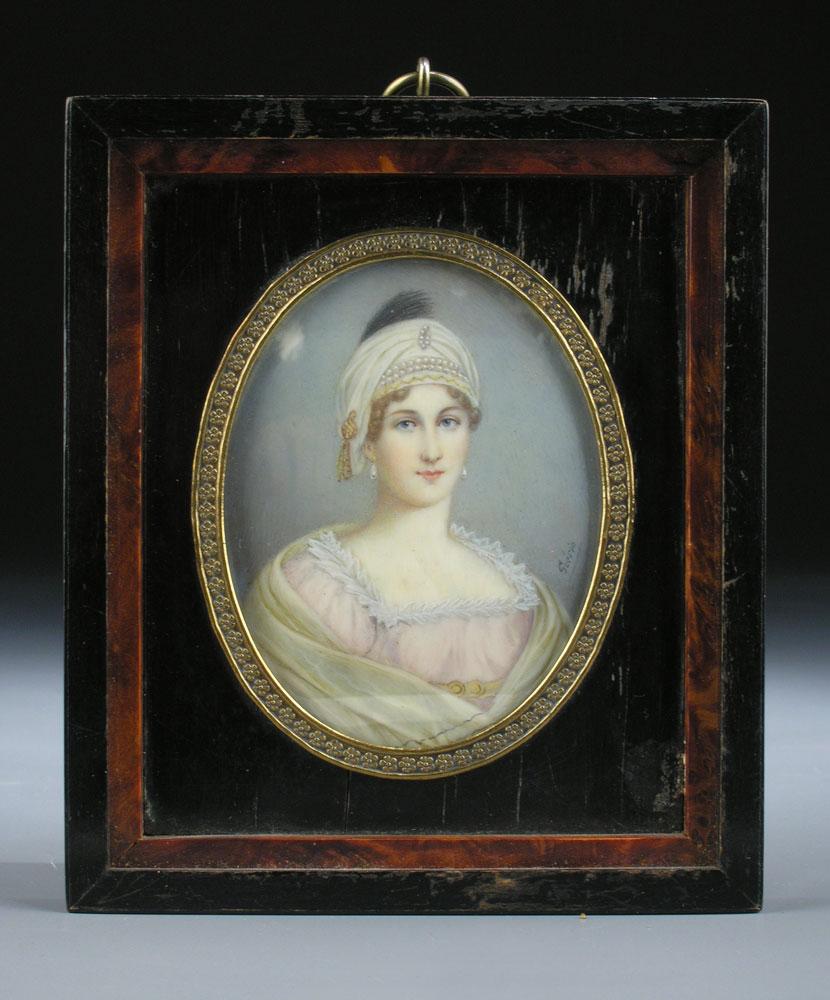 Portraitbildnis einer jungen Dame