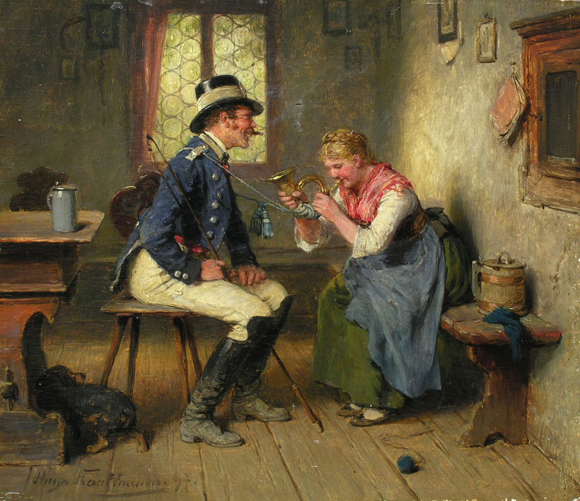 Hugo Kauffmann 1844 1915 Hampel Fine Art Auctions