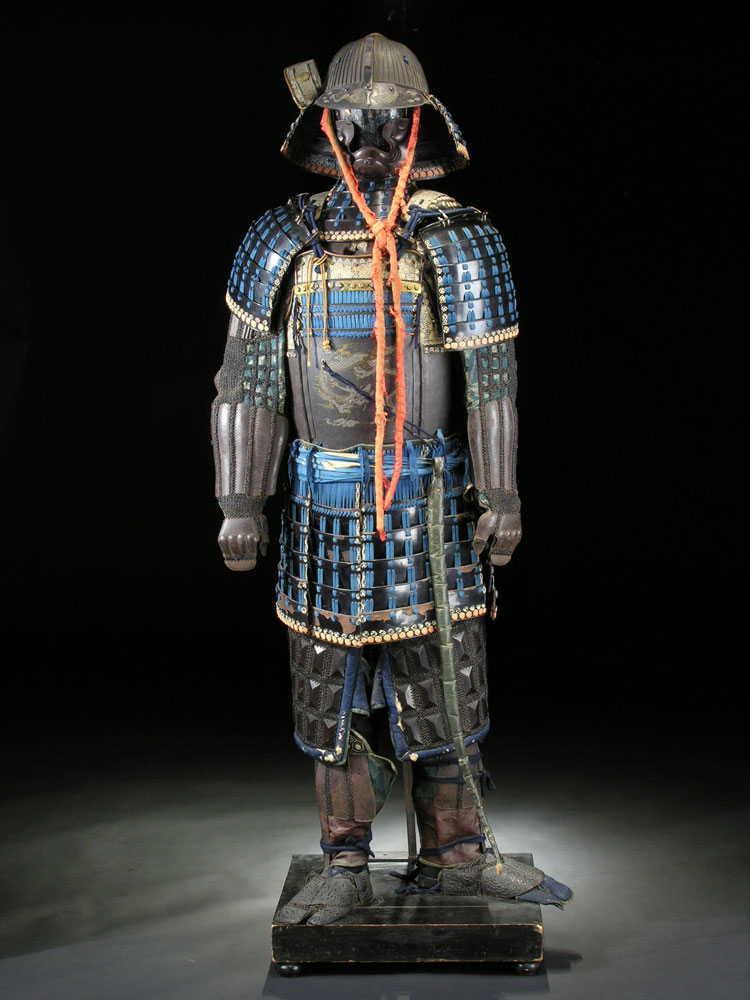 Samurai-Rüstung