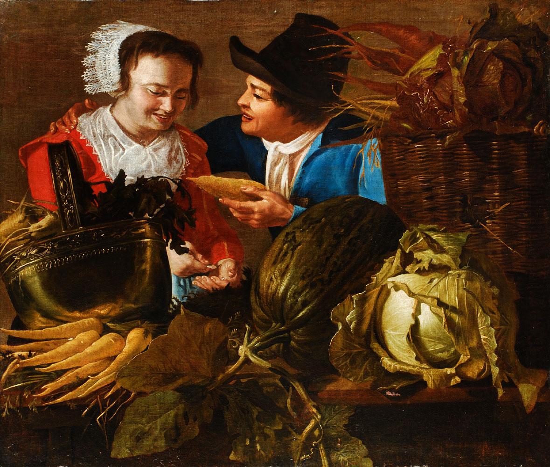 Holländischer Maler des 17. Jahrhunderts (Nachfolge des van Honthorst)