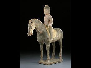 Detail images:  Pferd und Reiterin der Tang-Dynastie