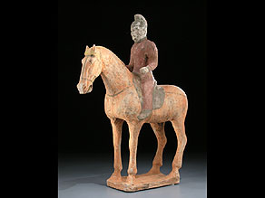 Detail images:  Pferd mit Reiter der Tang-Dynastie