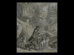 Detail images:  Johann Elias Ridinger Augsburger Kupferstecher des 18. Jahrhunderts