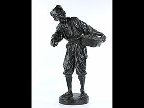 Detail images:  Japanische Bronzefigur