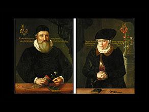 Detail images:  Deutscher Portraitist um 1600