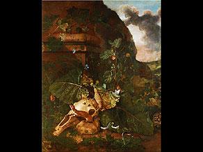 Otto Marseus van Schrieck 1619 - 1678, zug.