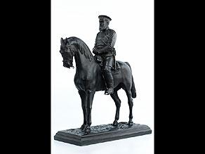 Detail images:  Reiterfigur Zar Alexander zu Pferd