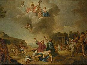 Detail images:  Italienischer Maler des 17./18. Jahrhunderts