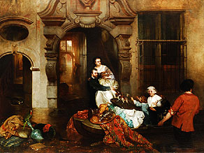 Huib van Hove 1814 Den Haag - 1864 Antwerpen