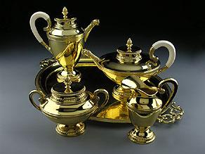 Detail images:  Vergoldetes Kaffee- und Teeservice